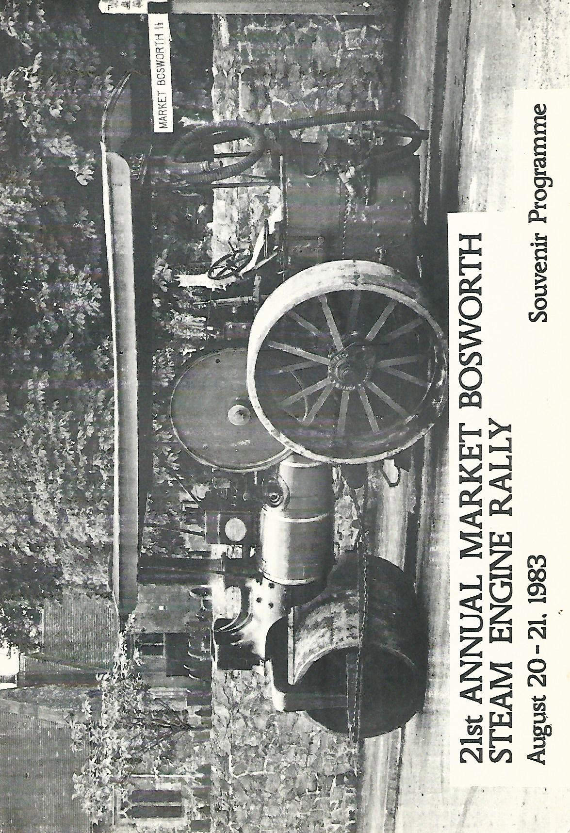 Image for Market Bosworth Steam Engine Rally Souvenir Programmes.