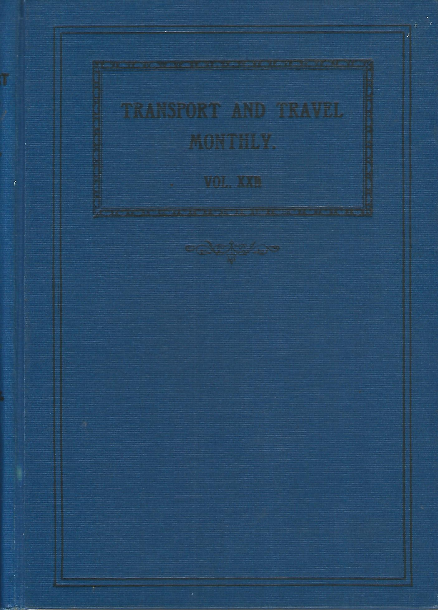 Image for The Railway and Travel Monthly, Vol XXII & XXIII: 1921.