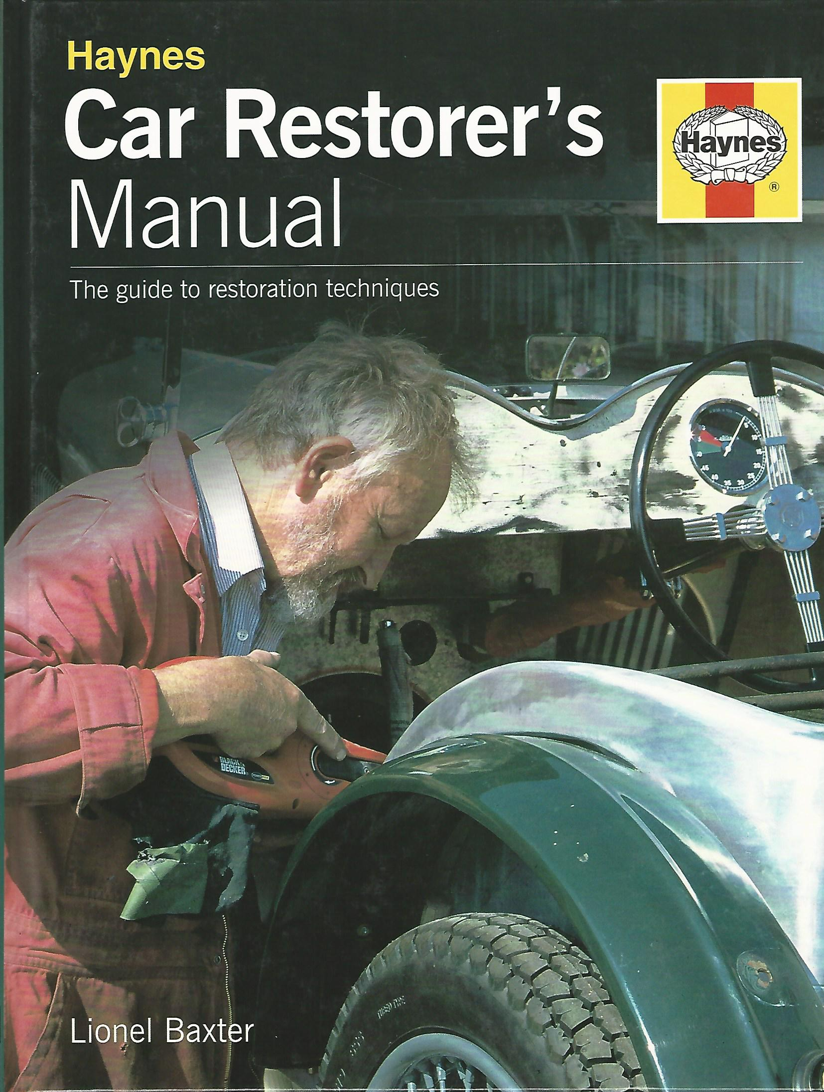 Image for Car Restorer's Manual.