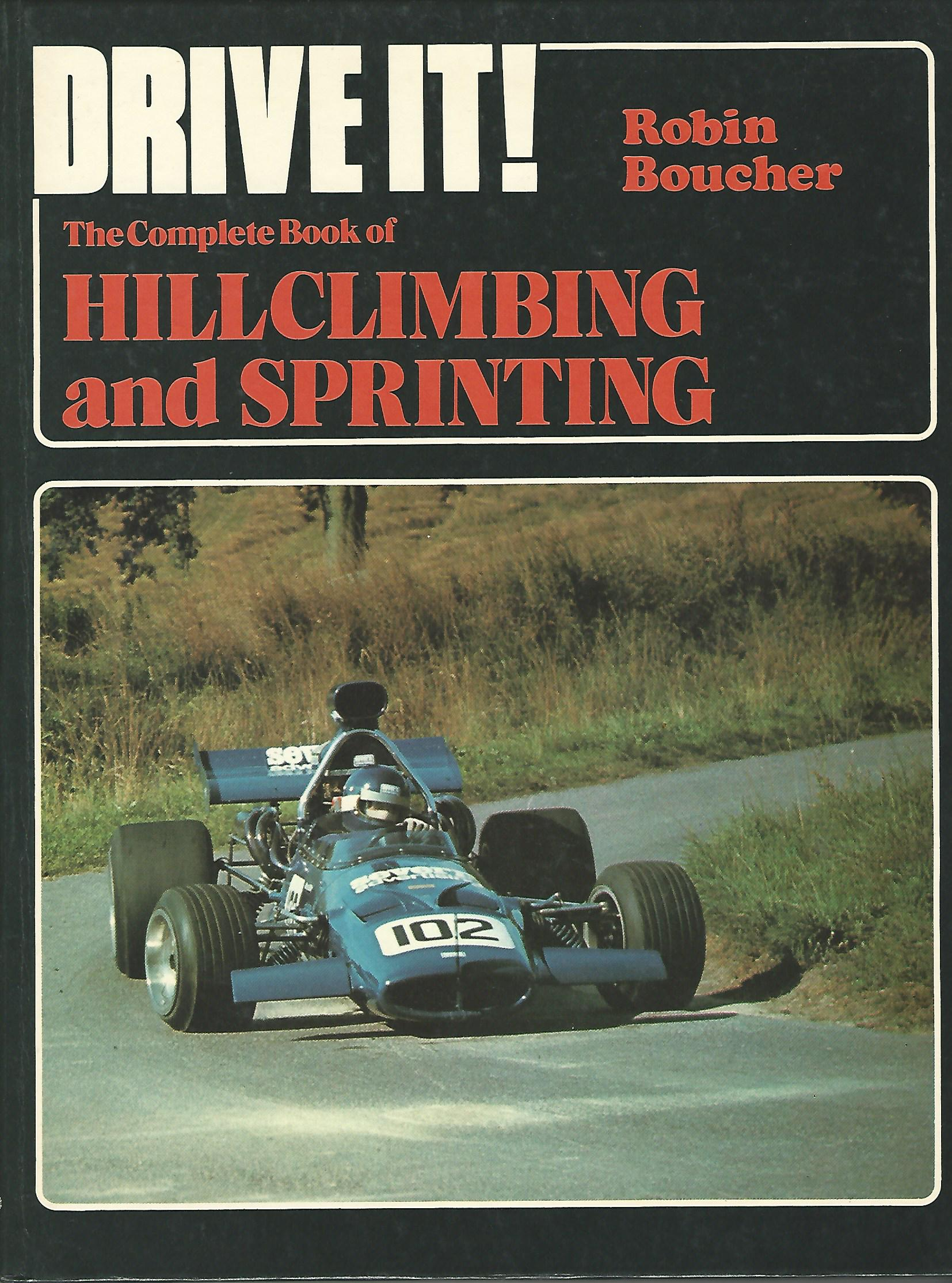 Image for Complete Book of Hill-climbing and Sprinting (Drive it).