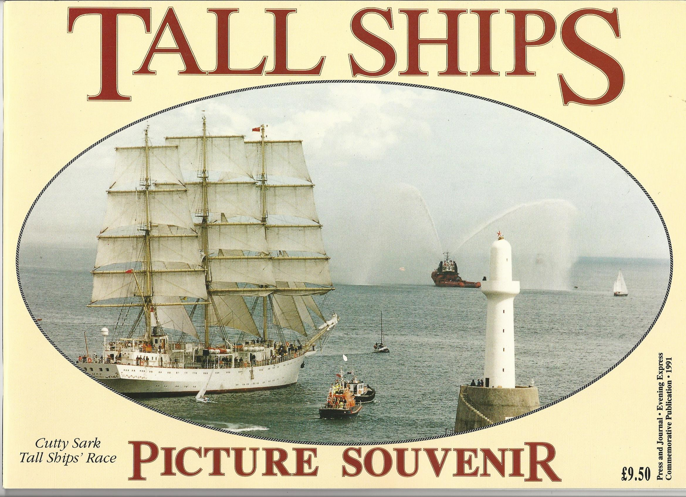 Image for Tall Ships Picture Souvenir.