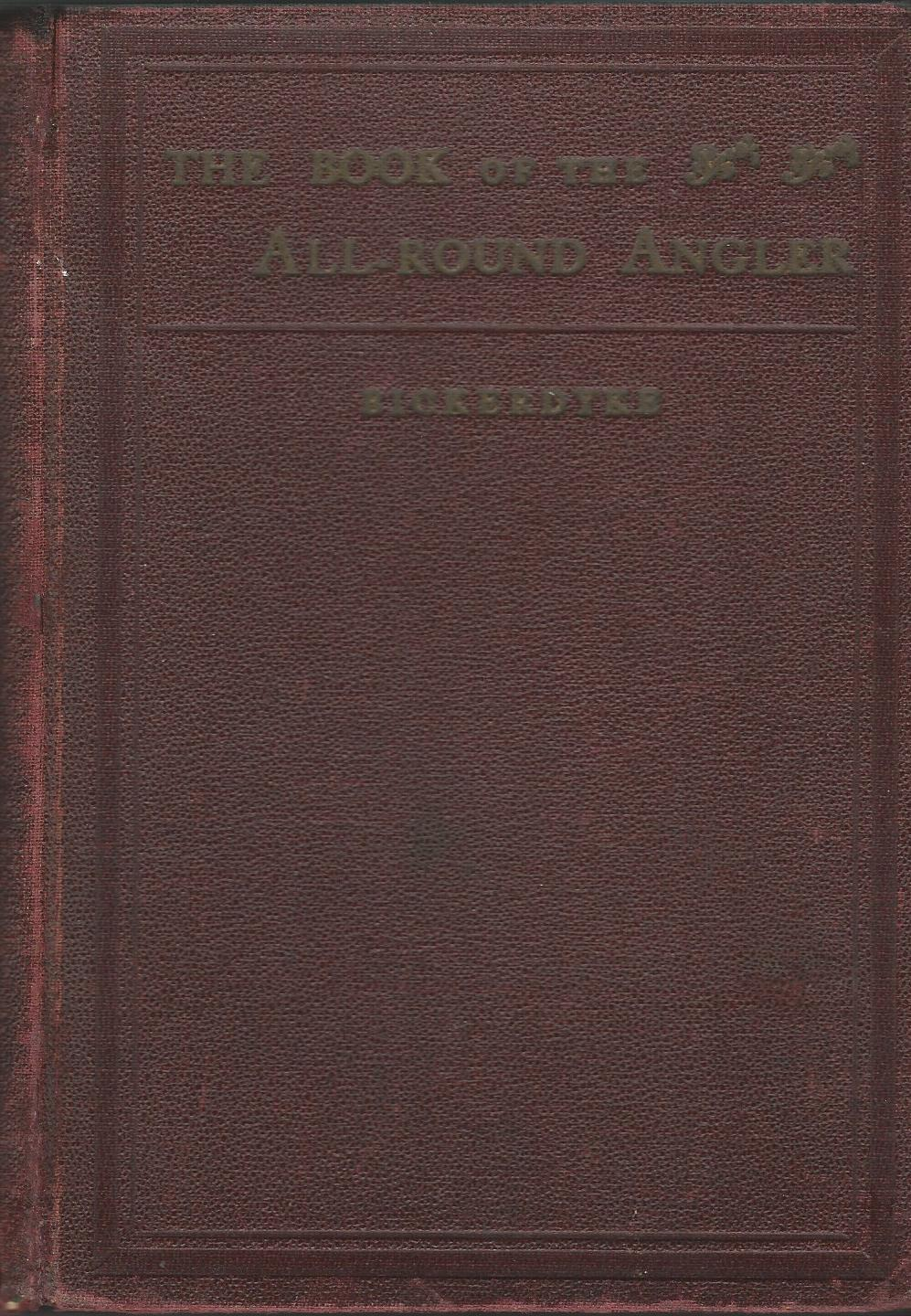 Image for The Book of the All-Round Angler.