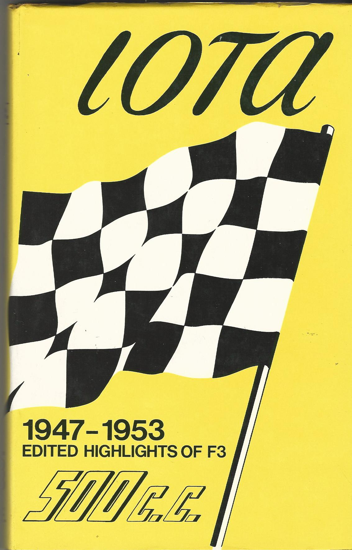 Image for Iota 500c.c. Racing, 1947-53