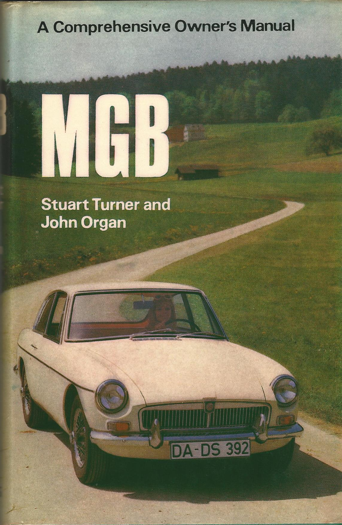 Image for MGB A Comprehensive Owner's Manual
