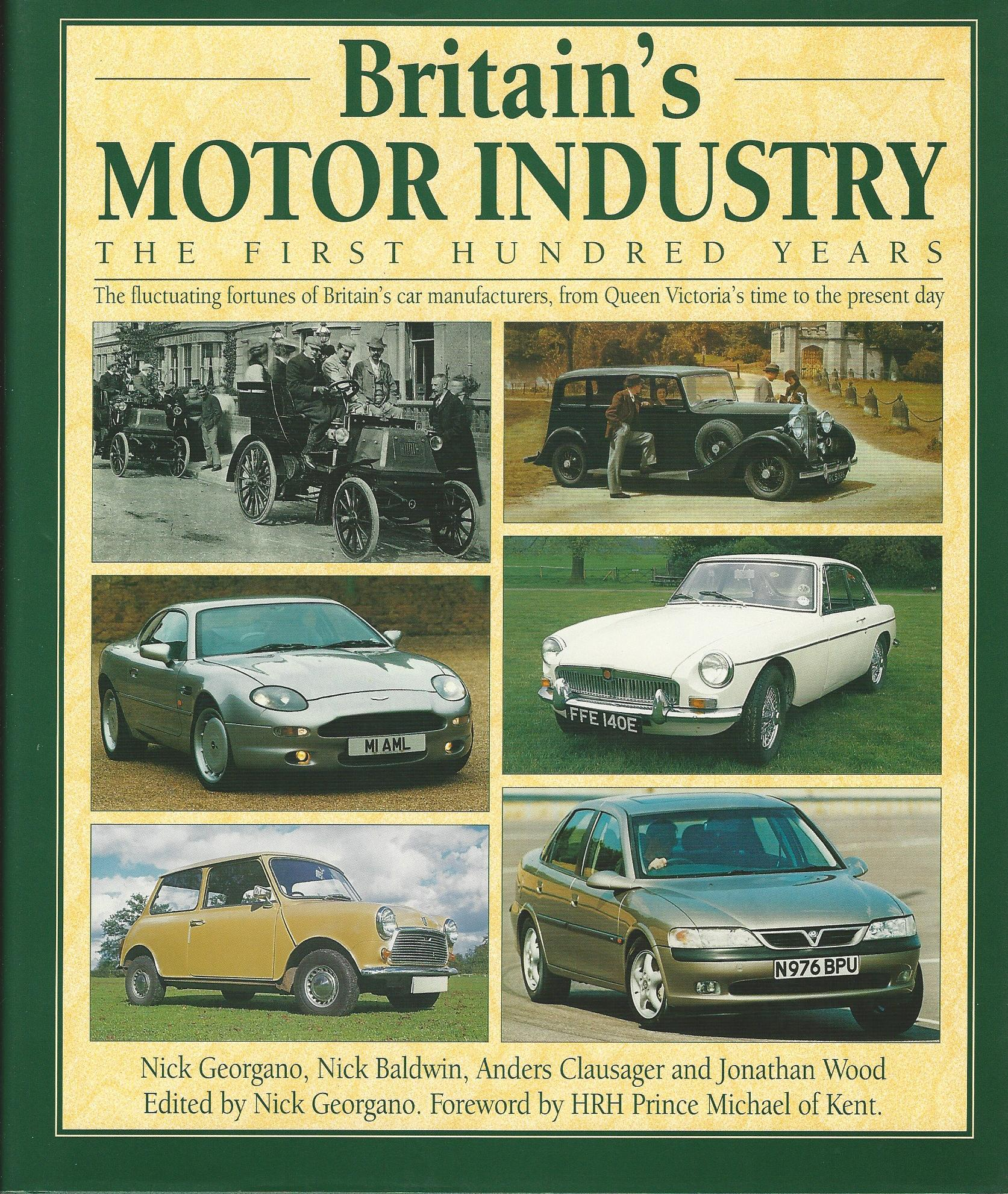 Image for Britain's Motor Industry: The First Hundred Years.