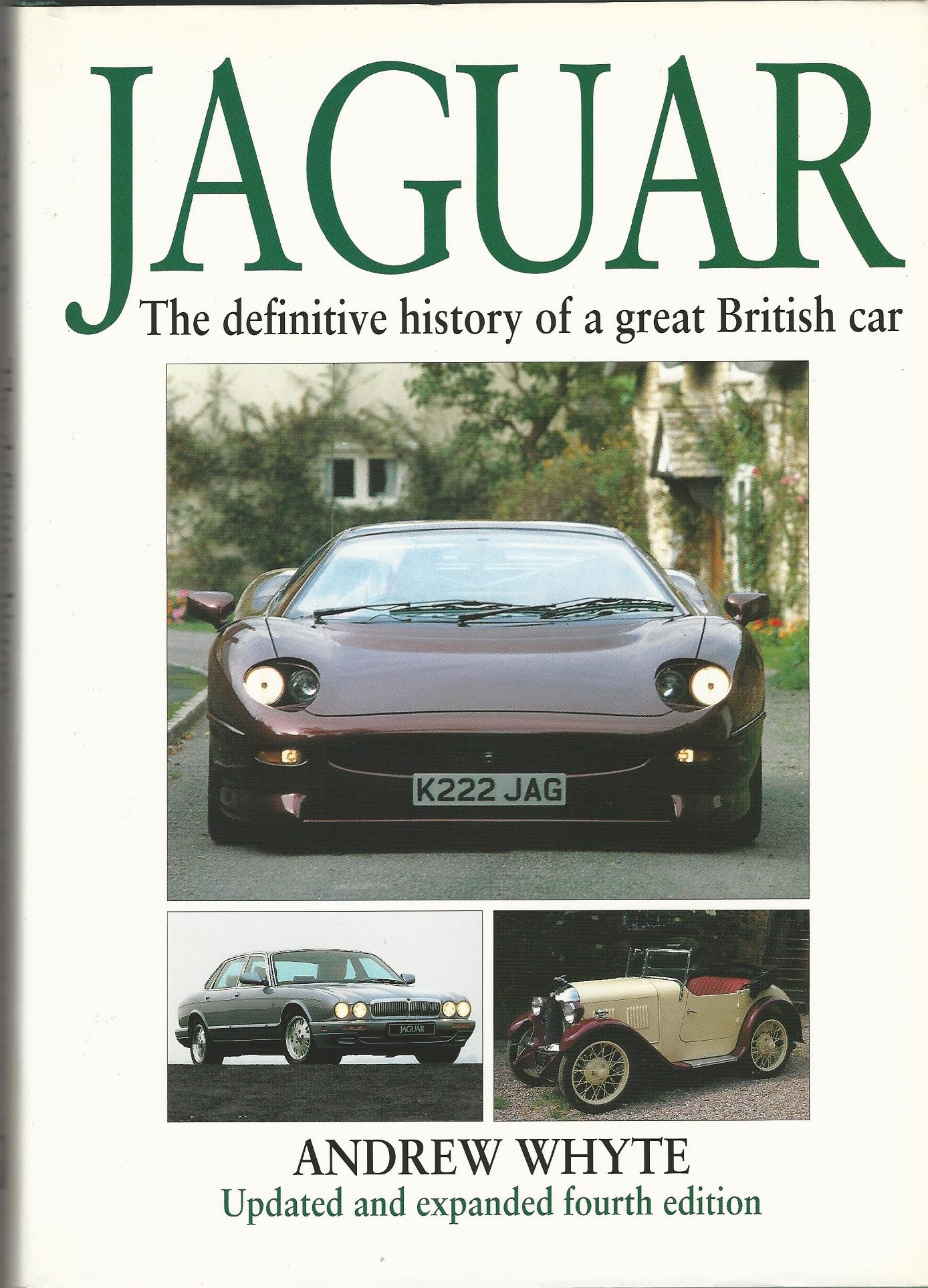 Image for Jaguar: The Definitive History of a Great British Car.