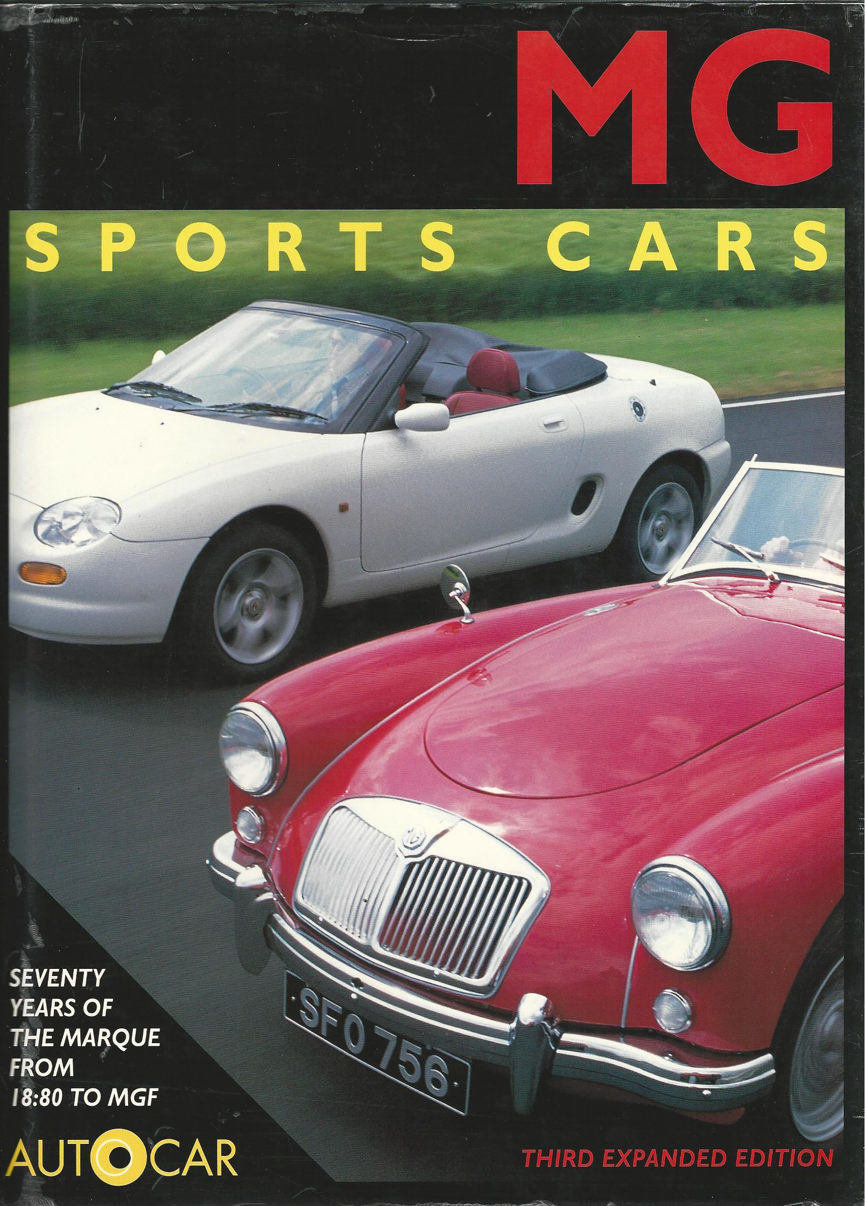 Image for MG Sports Cars: Autocar.