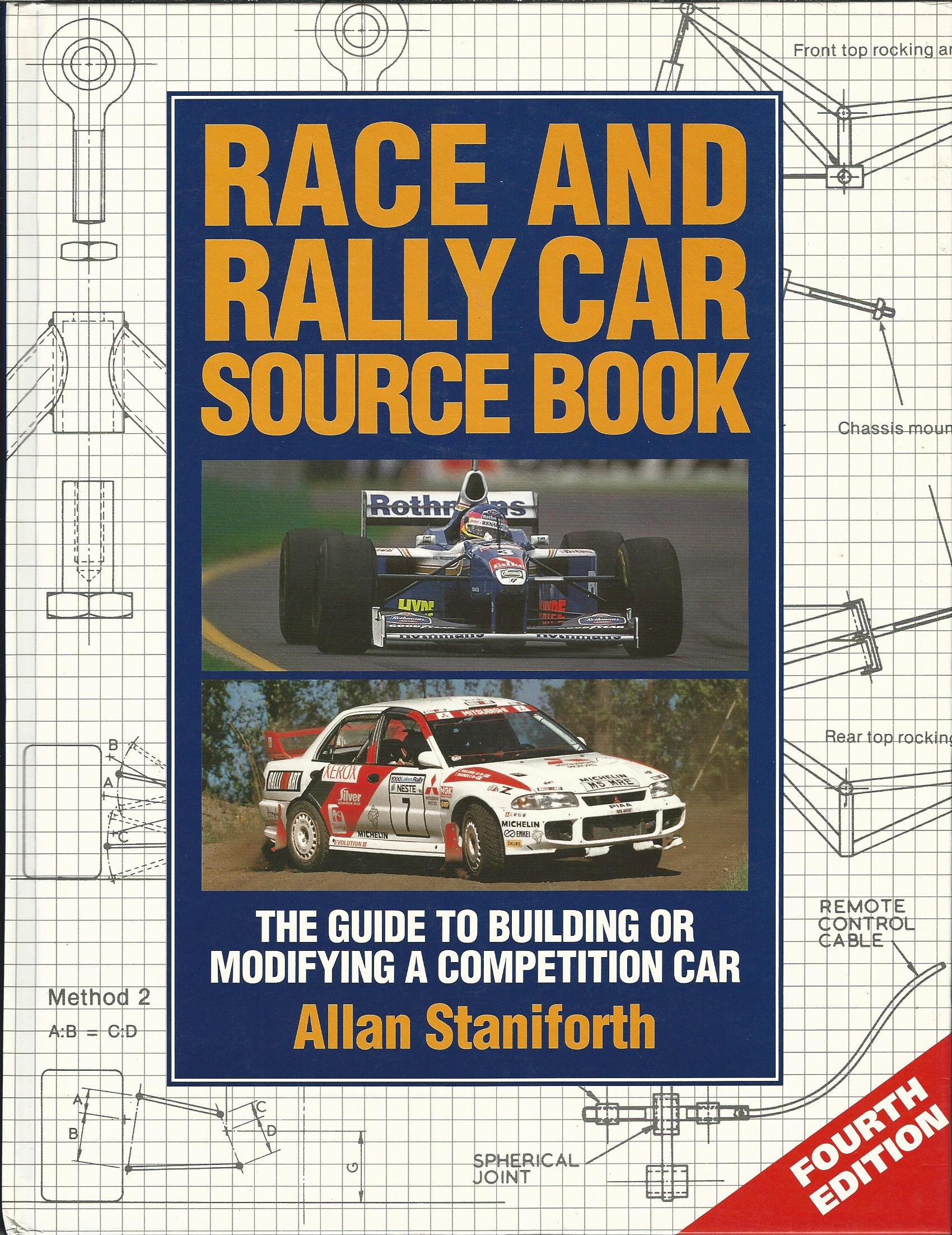 Image for Race and Rally Car Sourcebook: The Guide to Building or Modifying a Competition Car