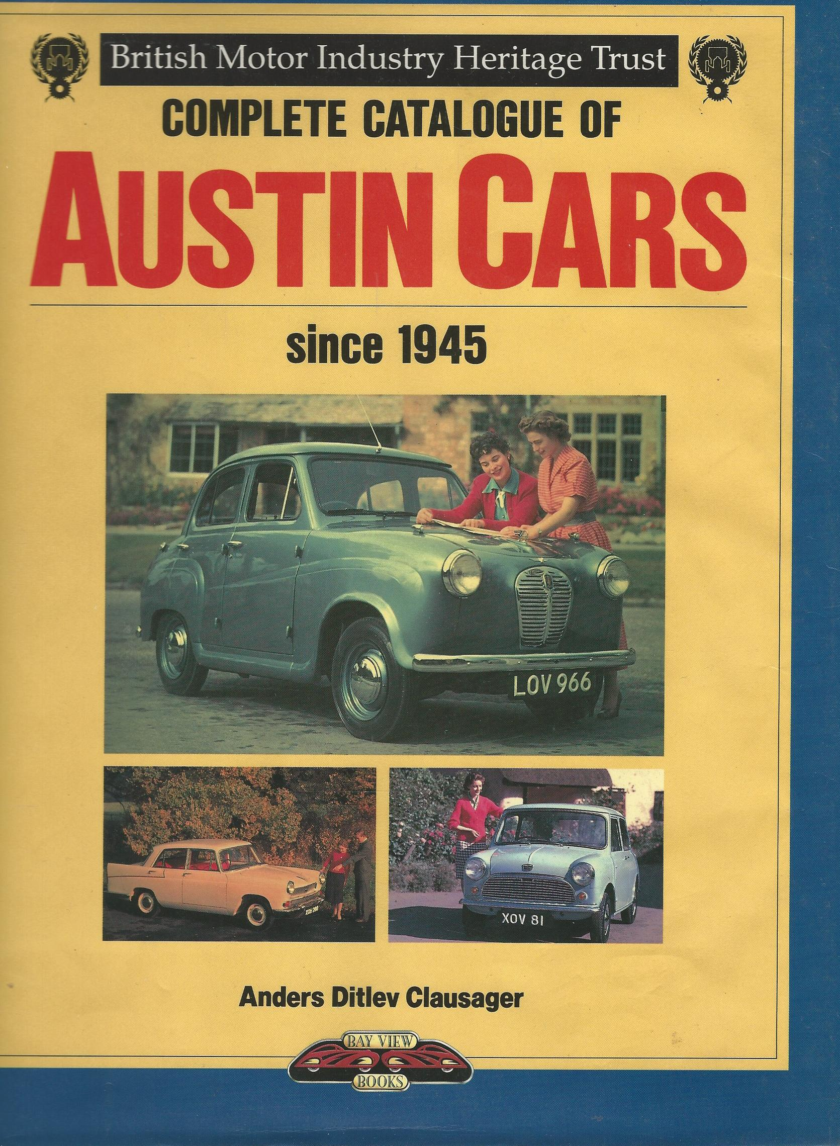 Image for Complete Catalogue of Austin Cars from 1945.