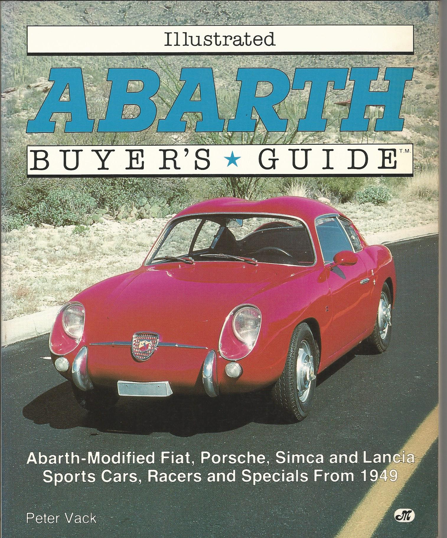 Image for Illustrated Abarth Buyer's Guide (Illustrated Buyer's Guide).