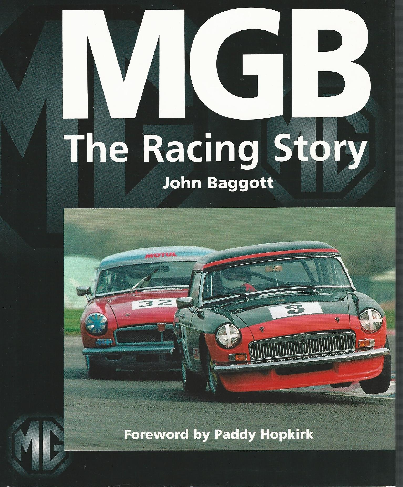 Image for MGB - The Racing Story
