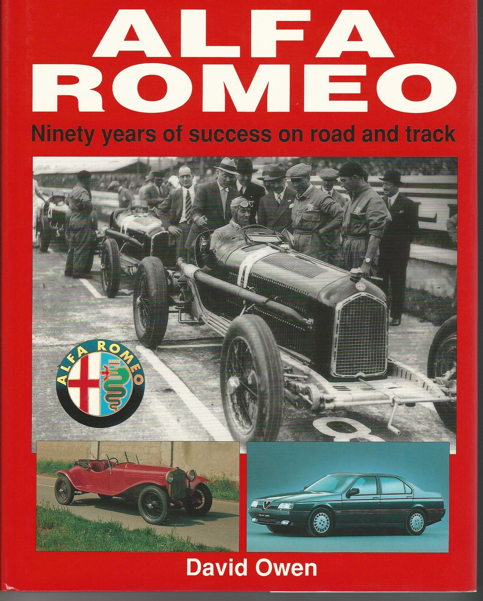 Image for Alfa-Romeo: Ninety Years of Success on Road and Track.