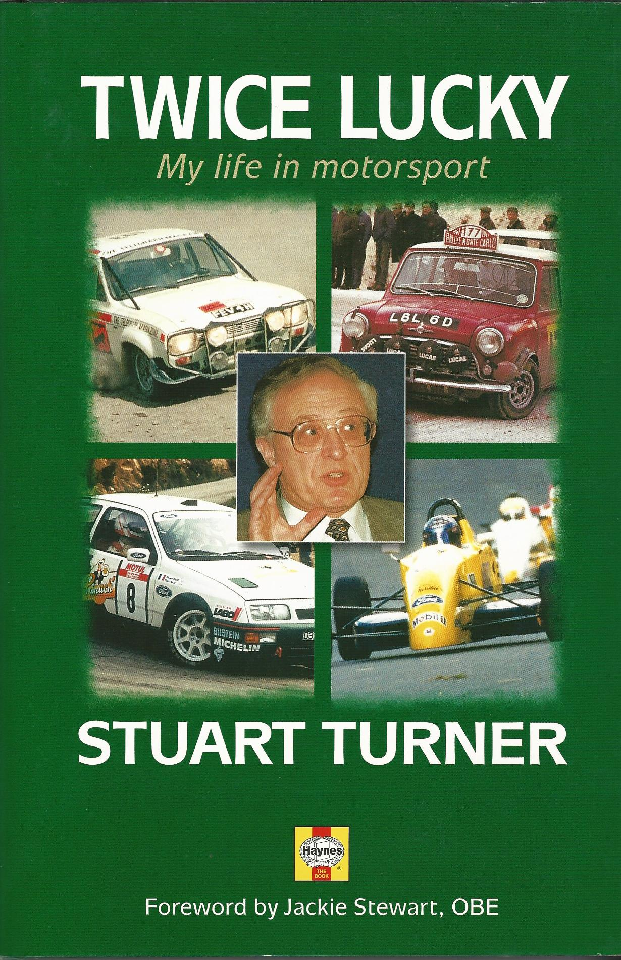 Image for Twice Lucky: My Life in Motorsport