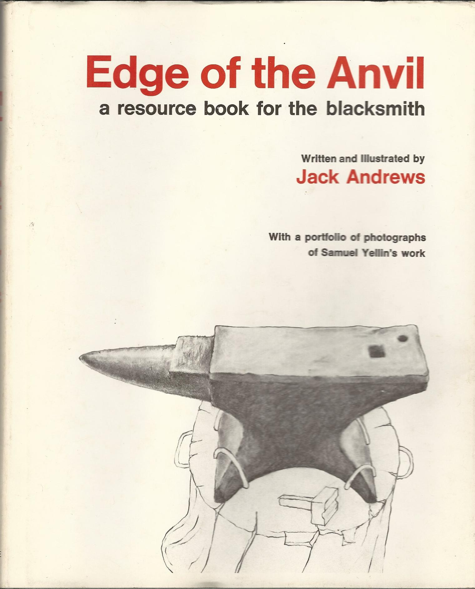 Image for Edge of the Anvil: A Resource Book for the Blacksmith.