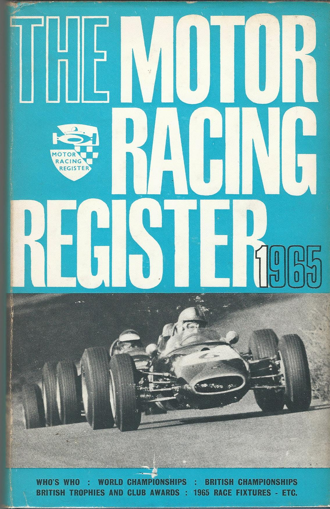 Image for The Motor Racing Register 1965.