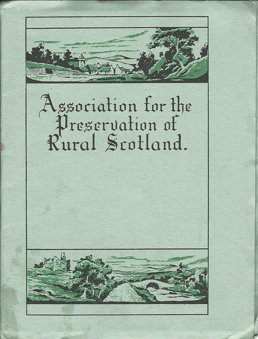 Image for Association for the Preservation of Rural Scotland.