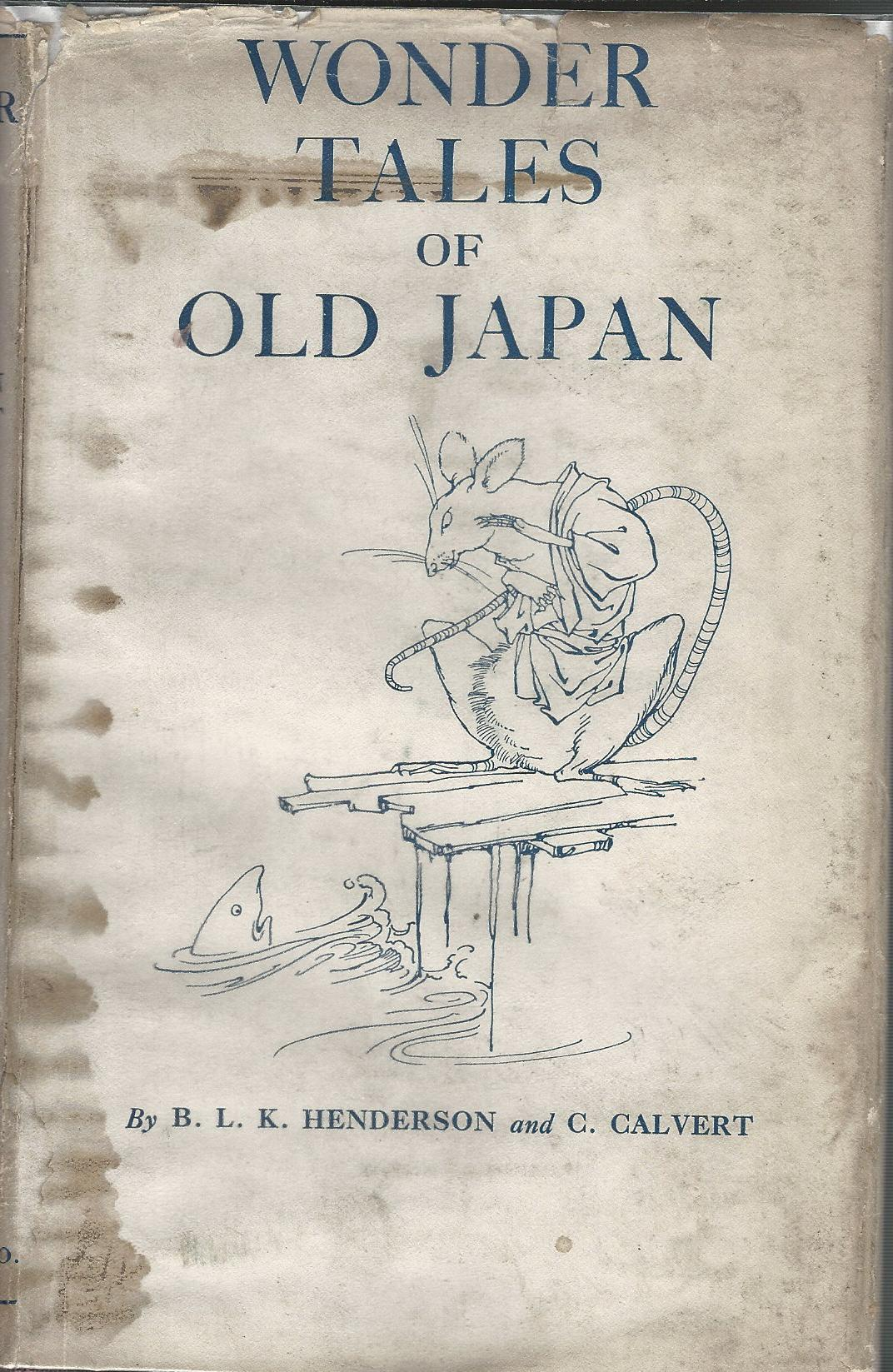 Image for Wonder Tales of Old Japan.