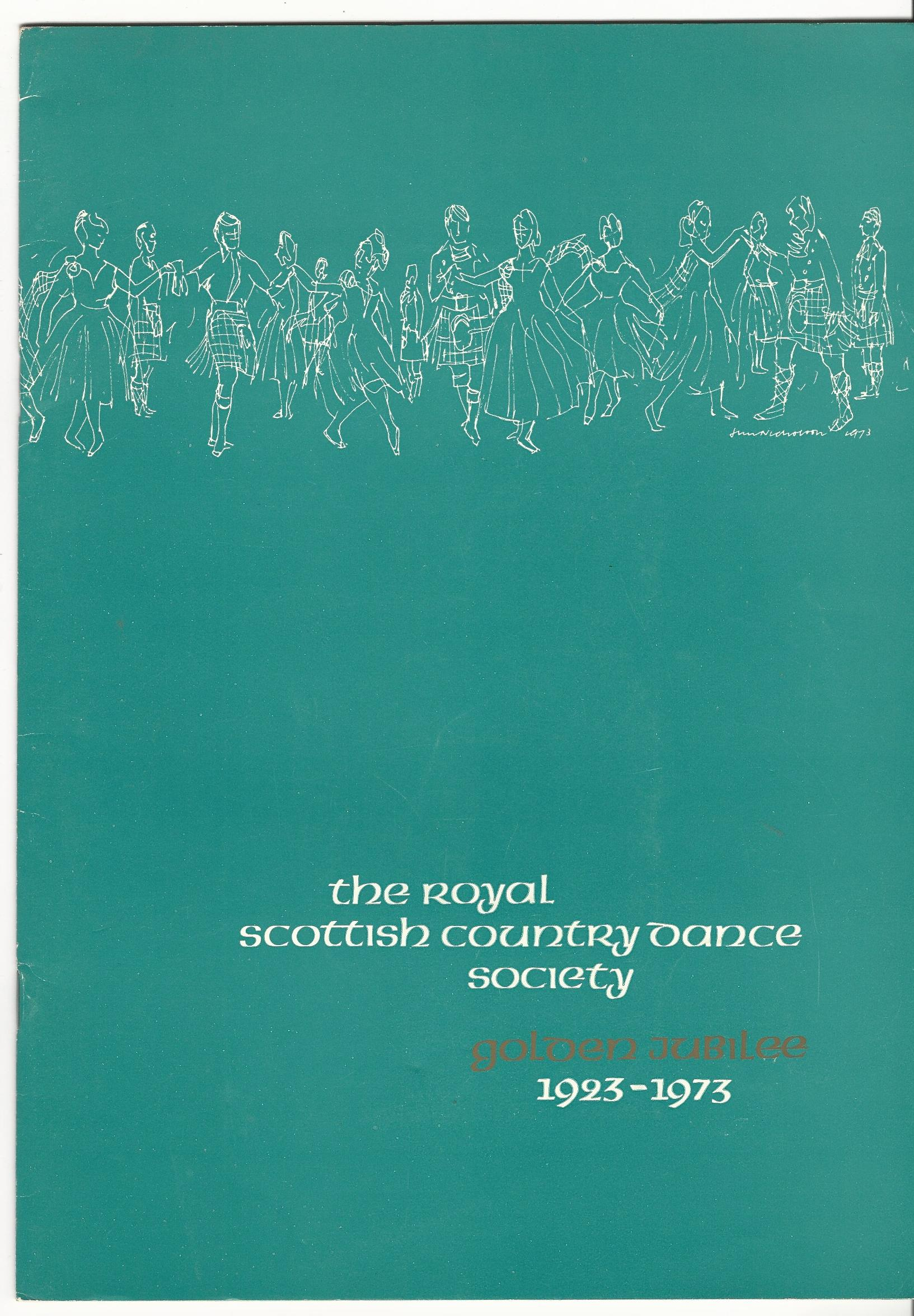Image for The Royal Scottish Country Dance Society Golden Jubilee 1923-1973