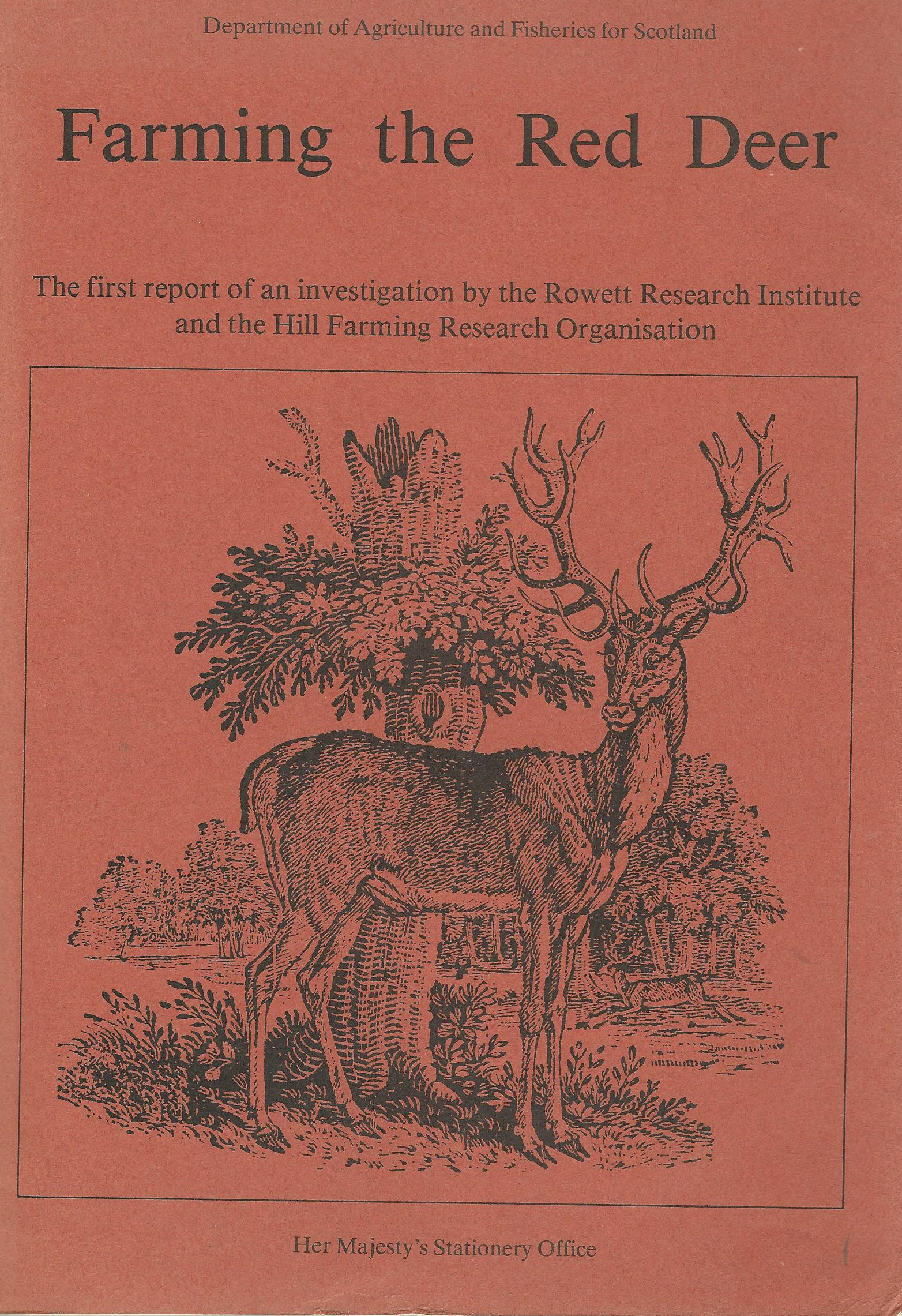 Image for Farming the Red Deer.