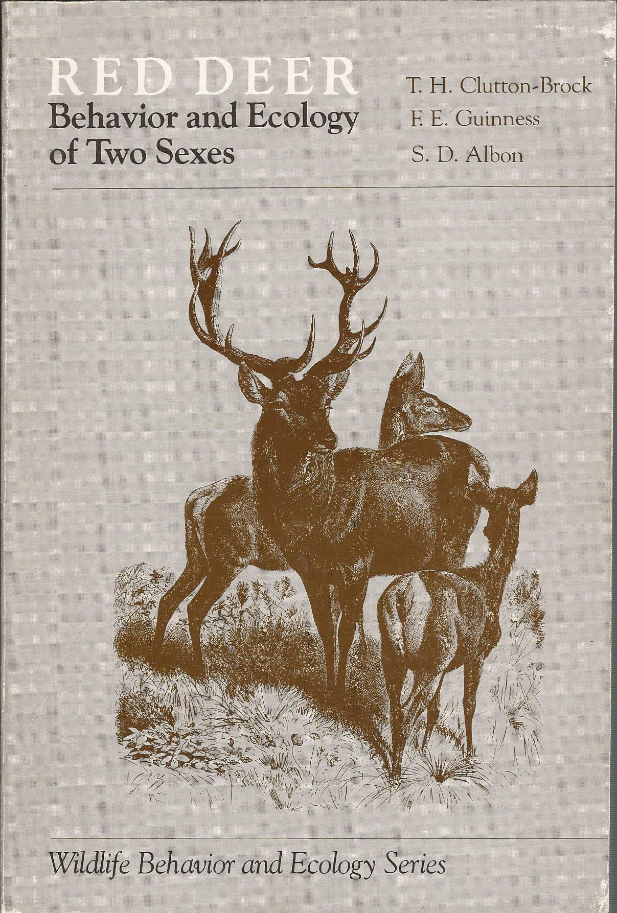 Image for Red Deer: The Behaviour and Ecology of Two Sexes (Wildlife Behaviour & Ecology)