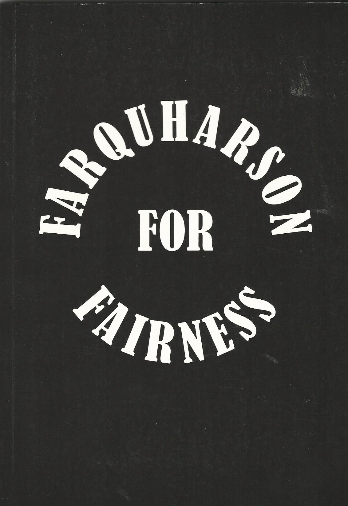 Image for Farquharson For Fairness, Sandy Farquharson: A Tribute