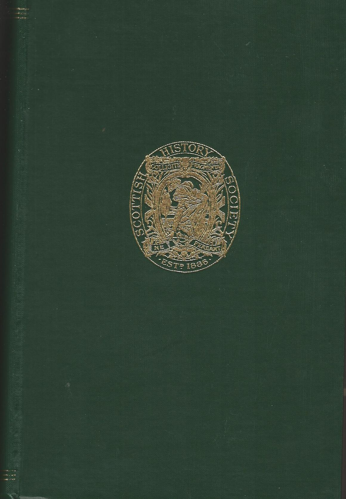 Image for Publications of the Scottish History Society, Third Series, Volume LI: Wigtownshire Charters.