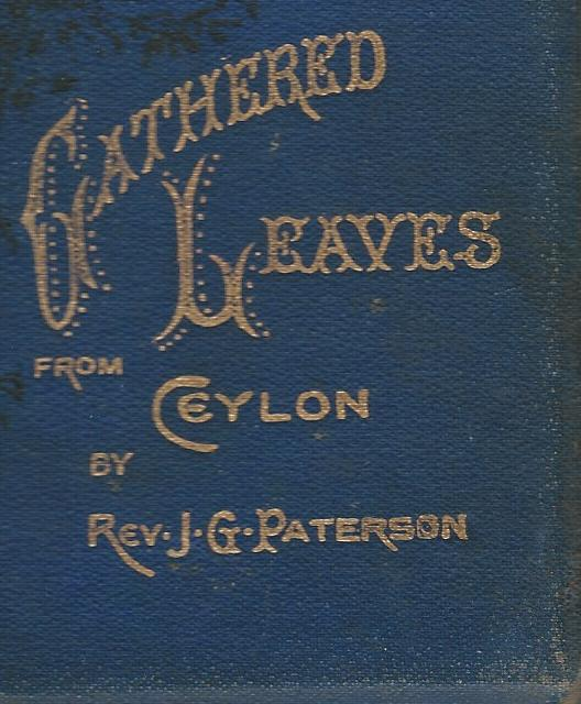 Image for Gathered Leaves from Ceylon.
