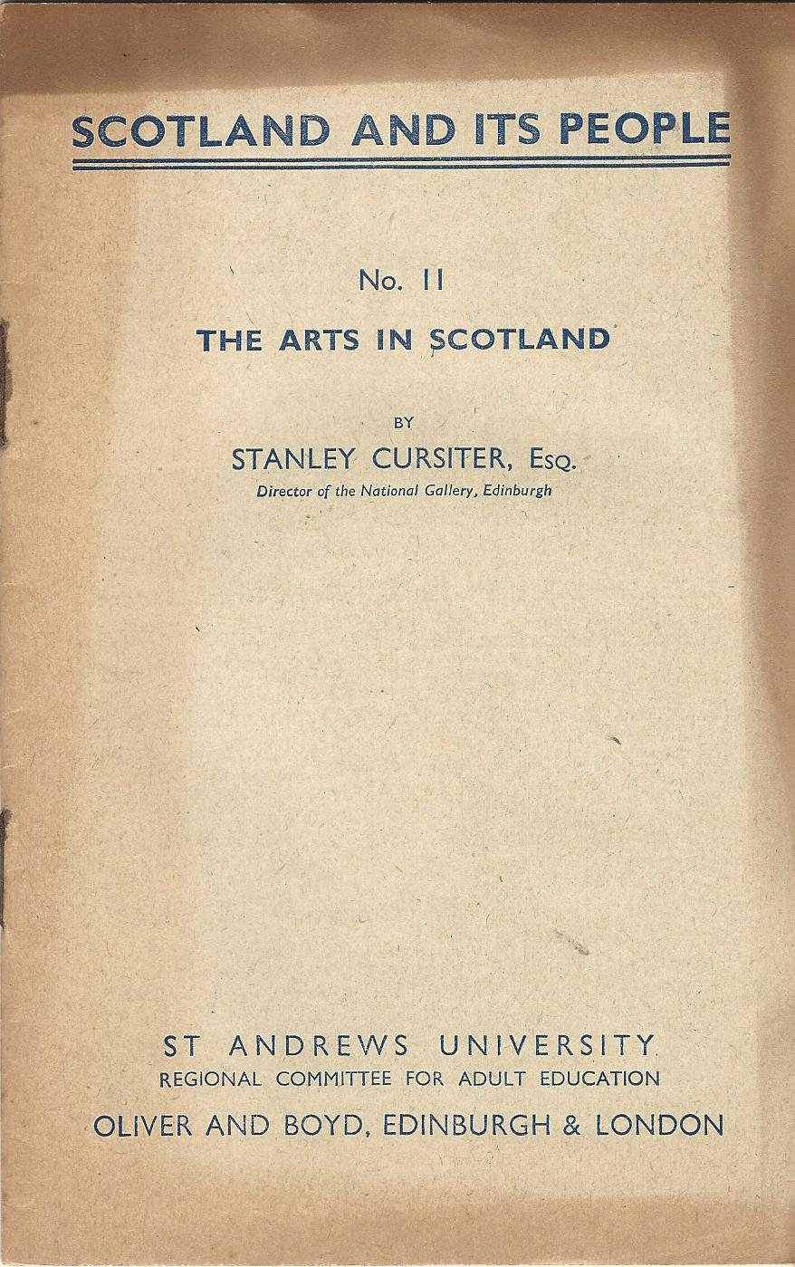 Image for Scotland and its People No.11: The Arts in Scotland