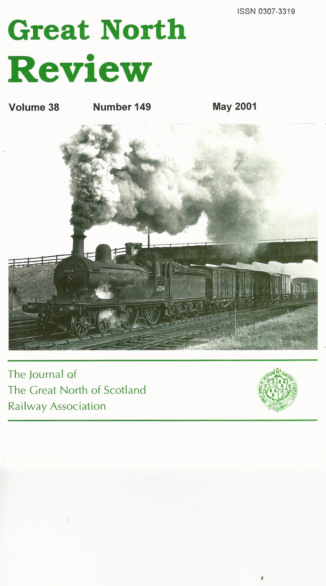 Image for Great North Review: Volume 38,  Number149, May 2001.