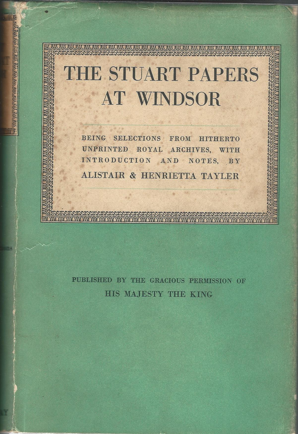 Image for The Stuart Papers at Windsor.