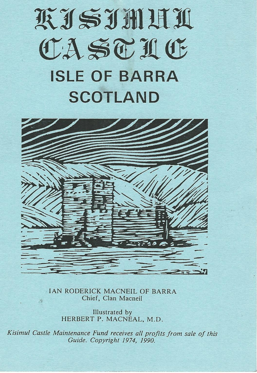 Image for Kisimul Castle: Isle of Barra.