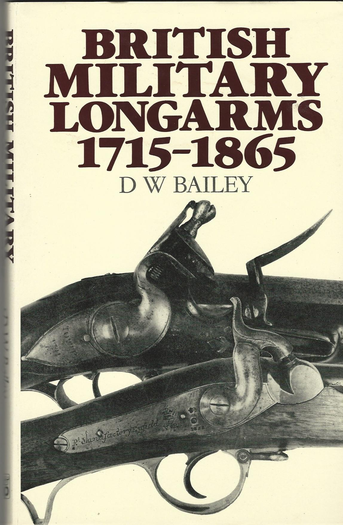 Image for British Military Longarms, 1715-1865