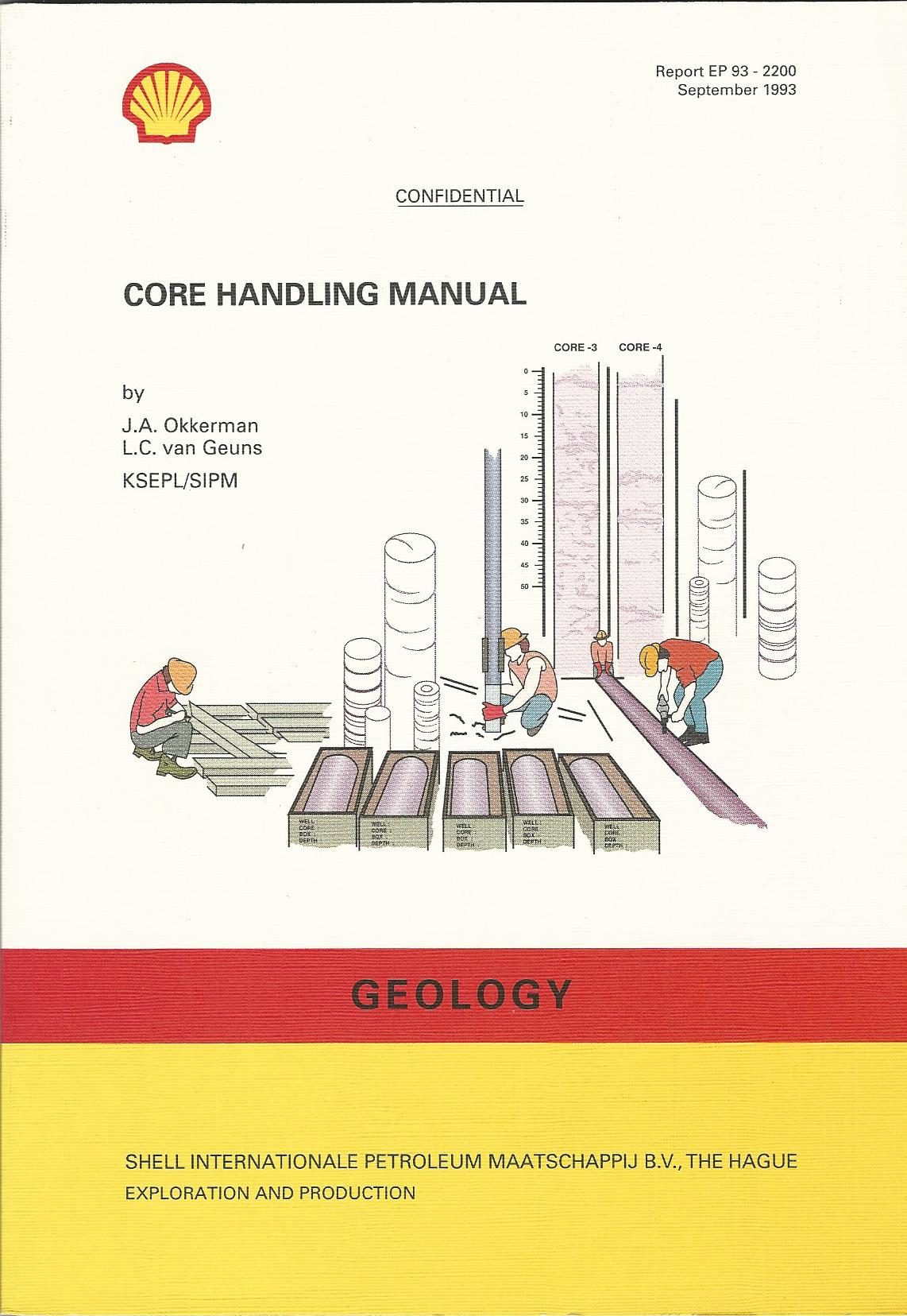 Image for Core Handling Manual