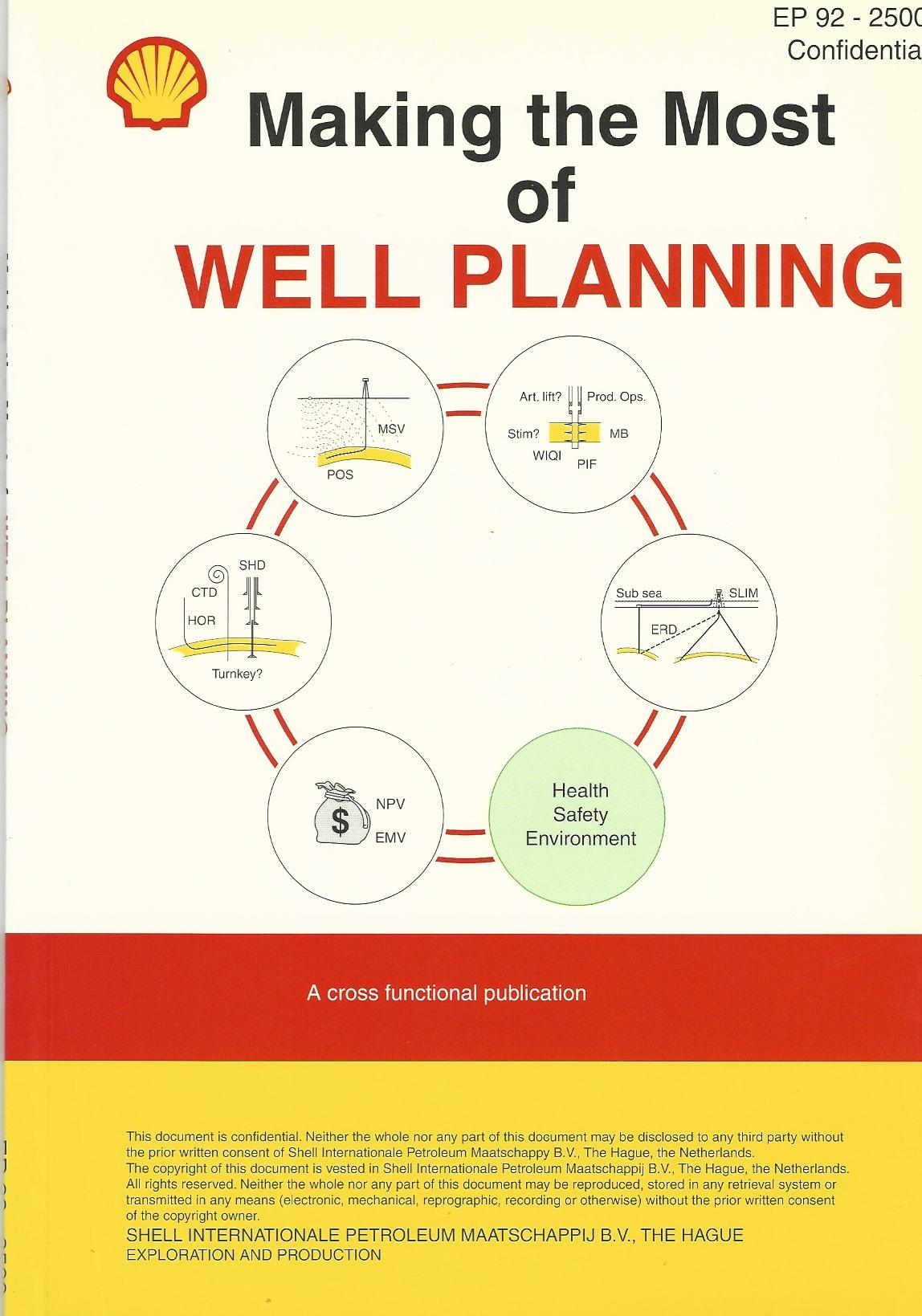 Image for Making the Most of Well Planning