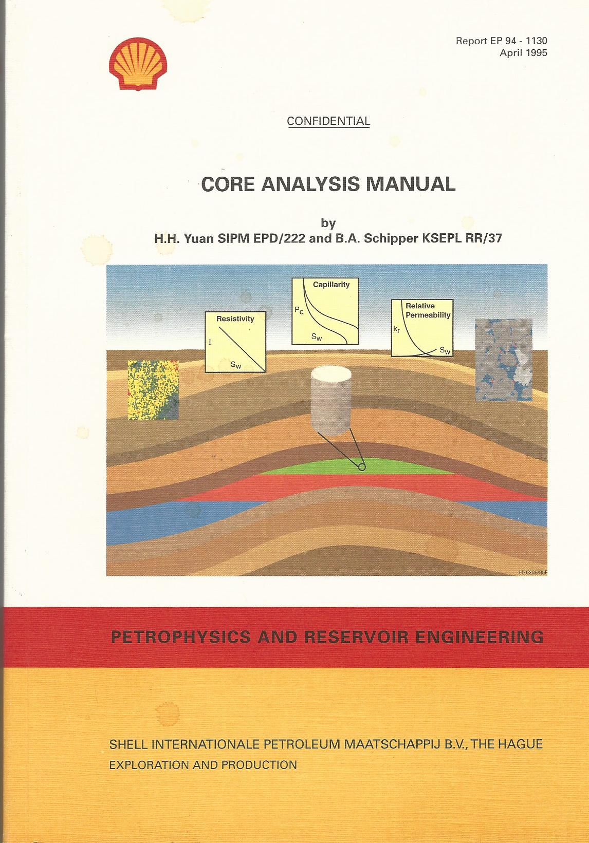 Image for Core Analysis Manual