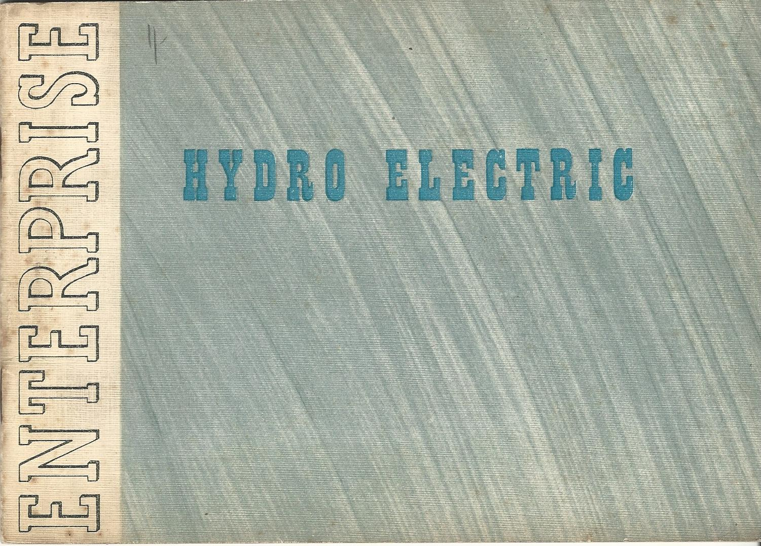 Image for Scottish Enterprise: Hydro-Electric