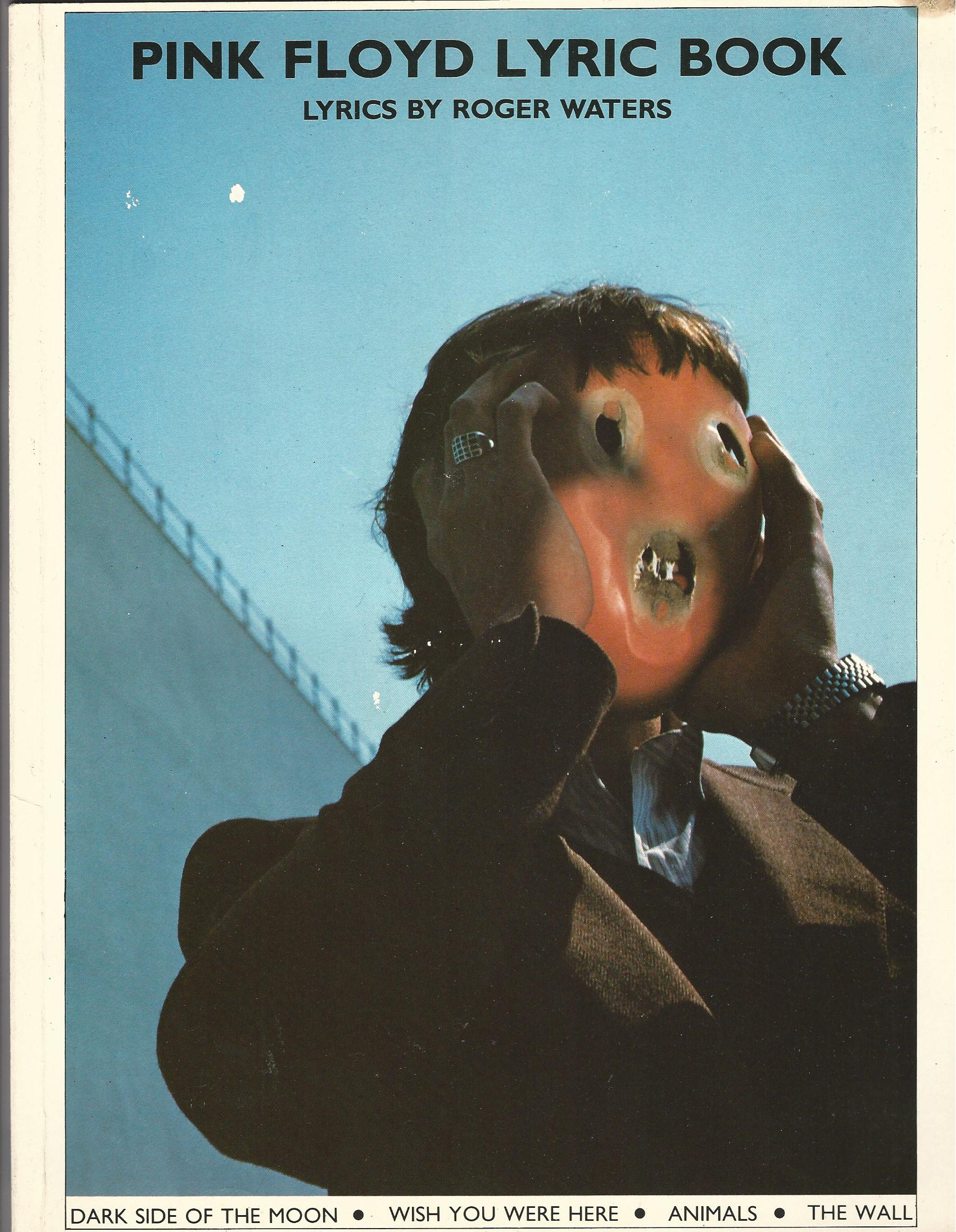 Image for Pink Floyd Lyric Book: Lyrics by Roger Waters