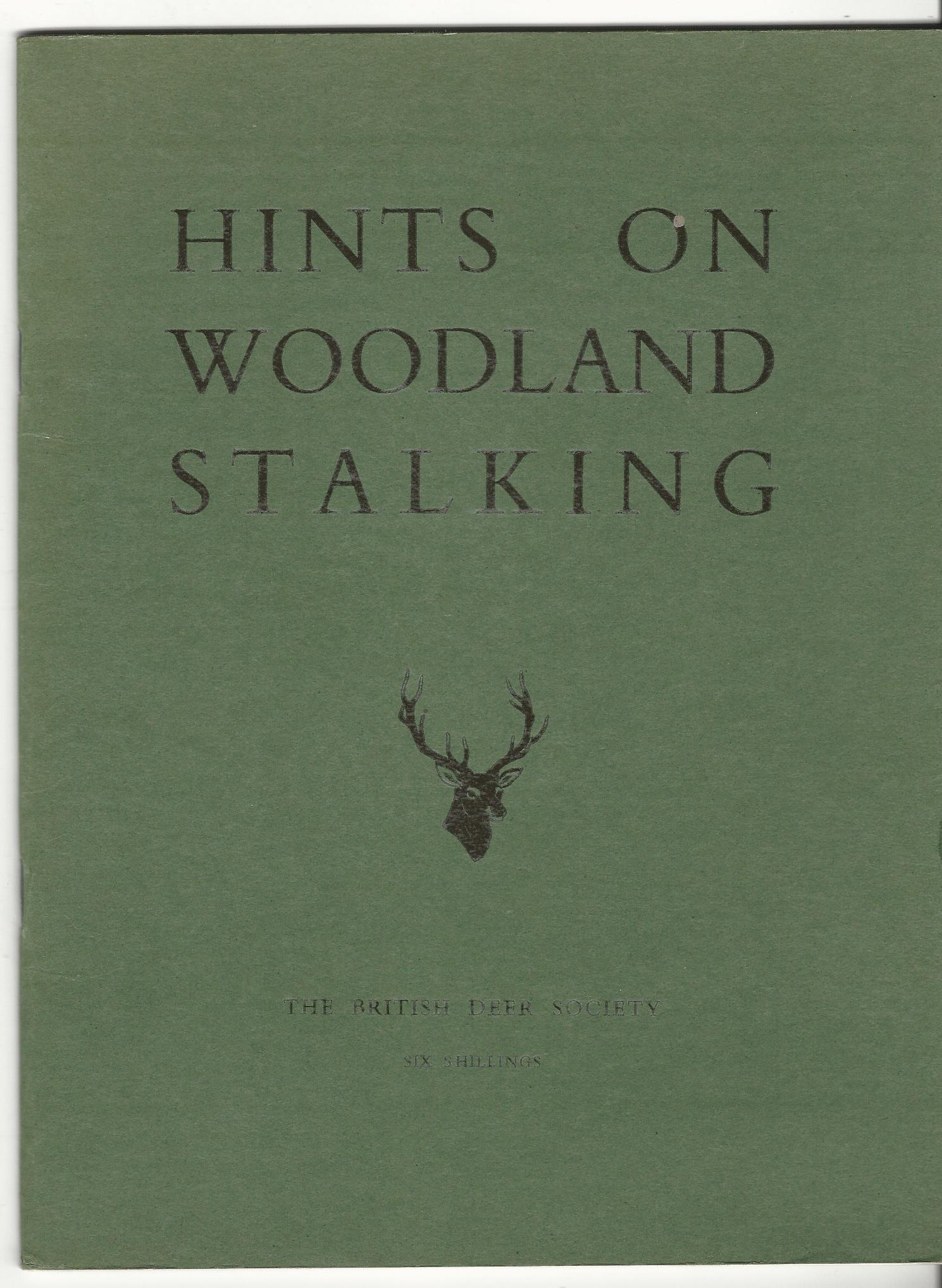Image for Hints on Woodland Stalking