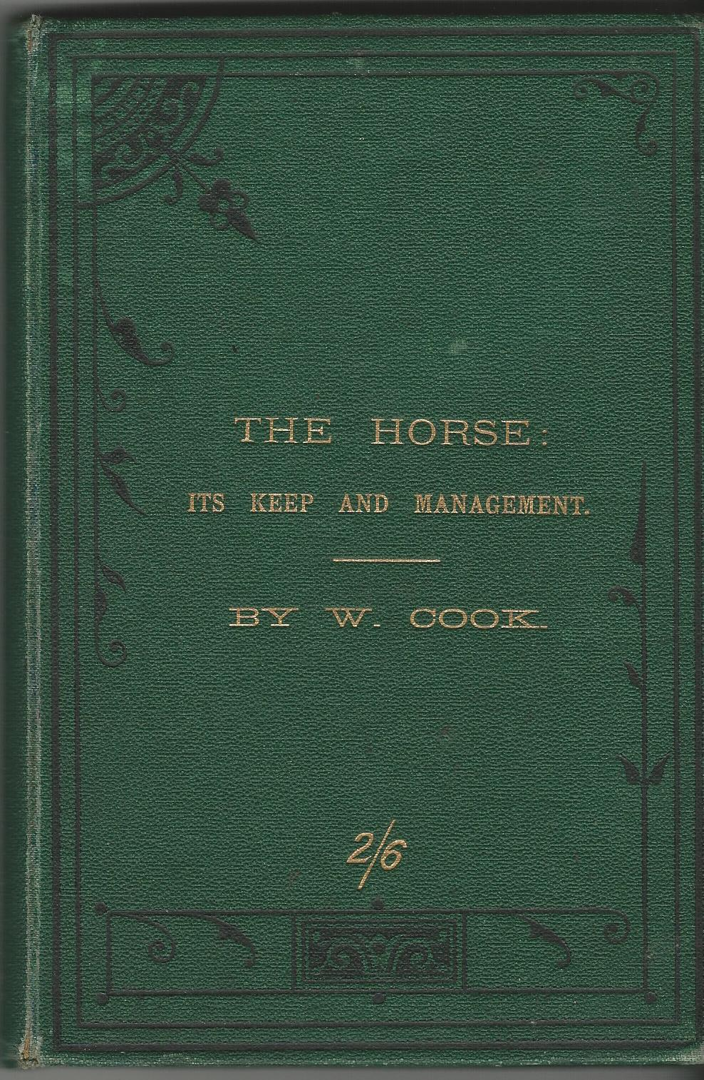 Image for The Horse: Its Keep & Management