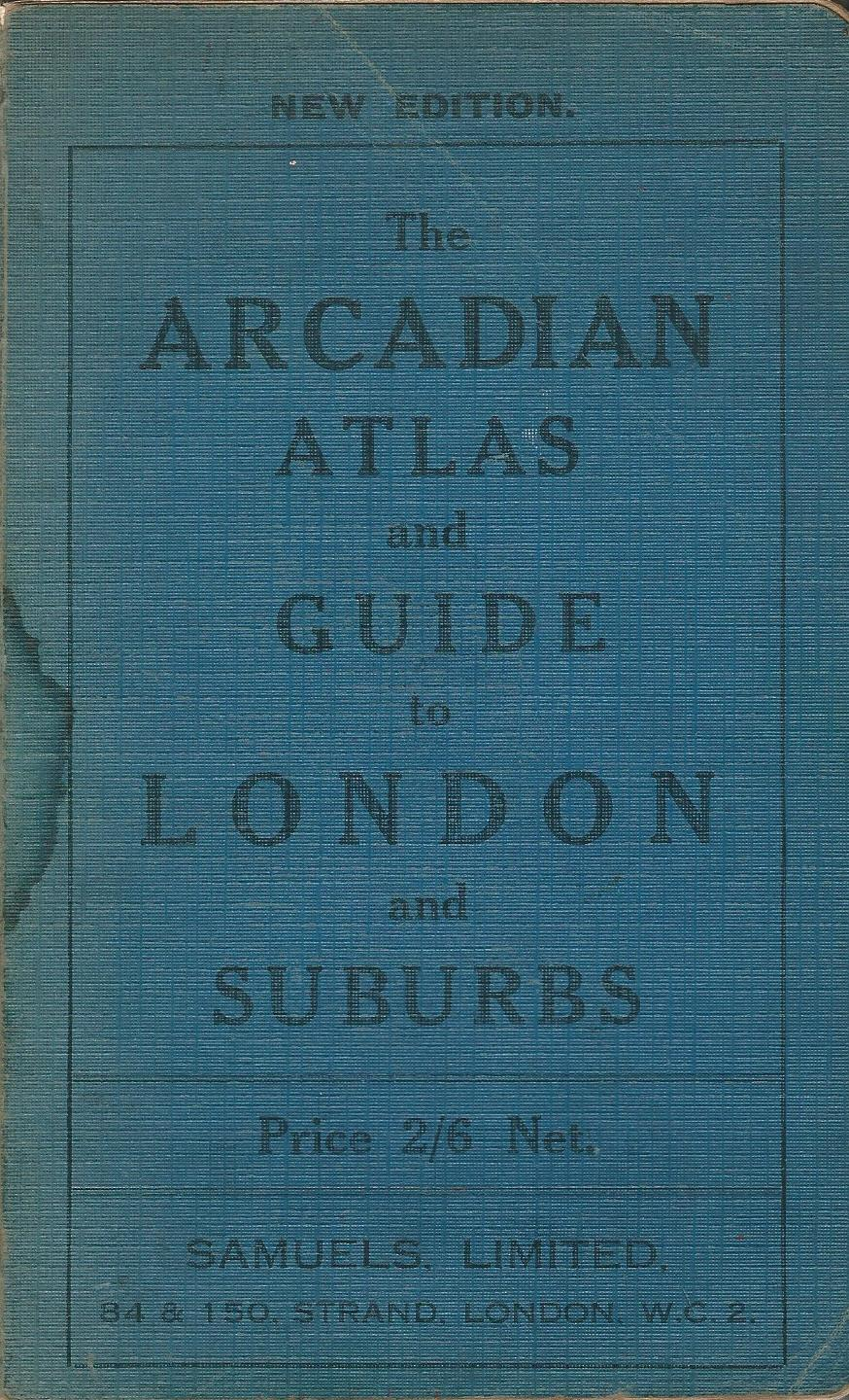 Image for The Arcadian (Geographia) Atlas and Guide to London and Suburbs