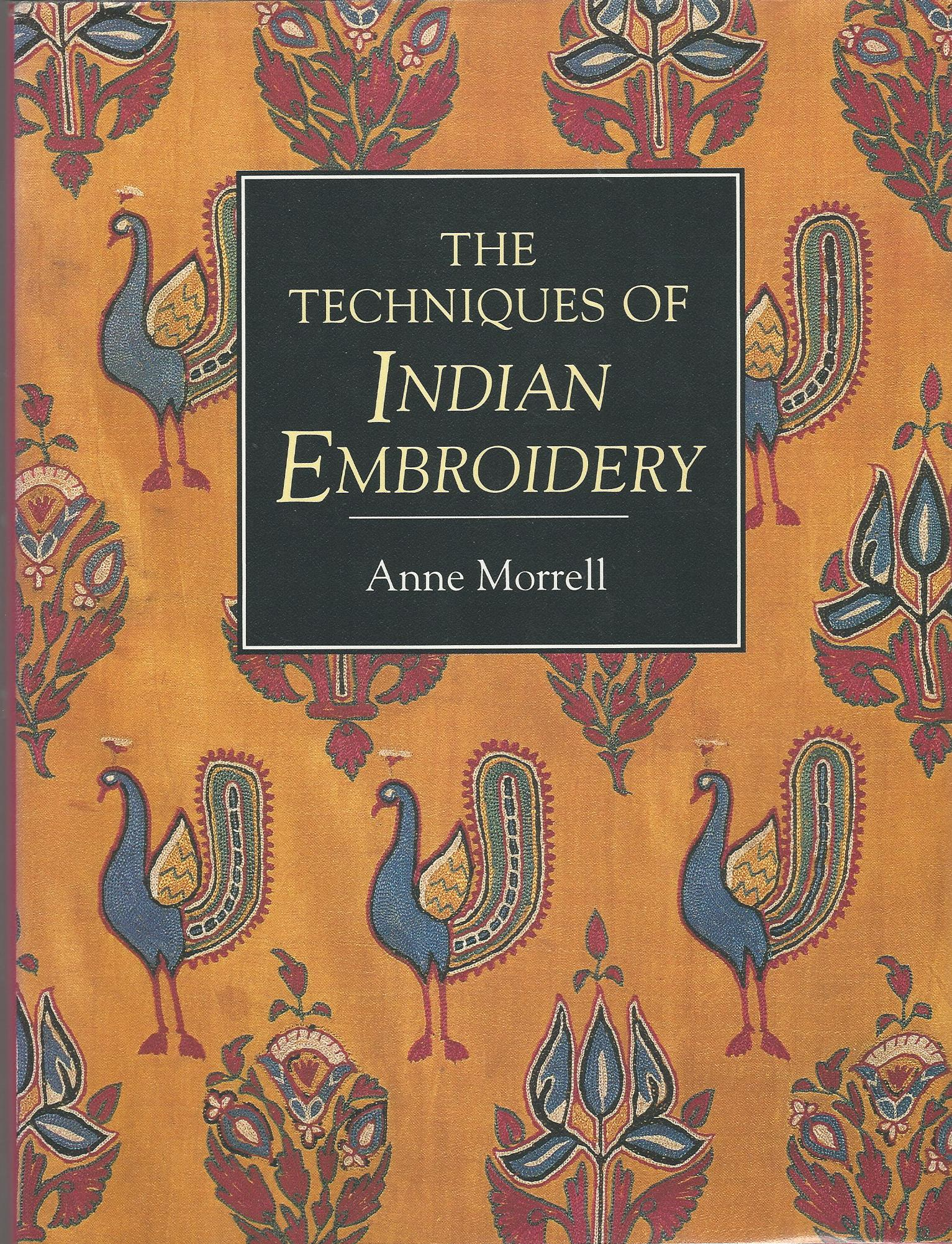Image for The Techniques of Indian Embroidery