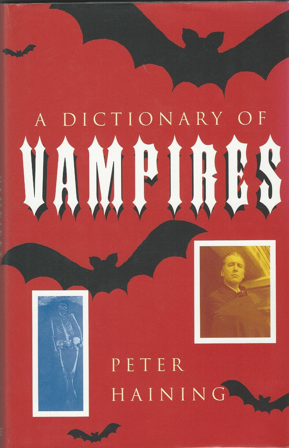 Image for A Dictionary of Vampires