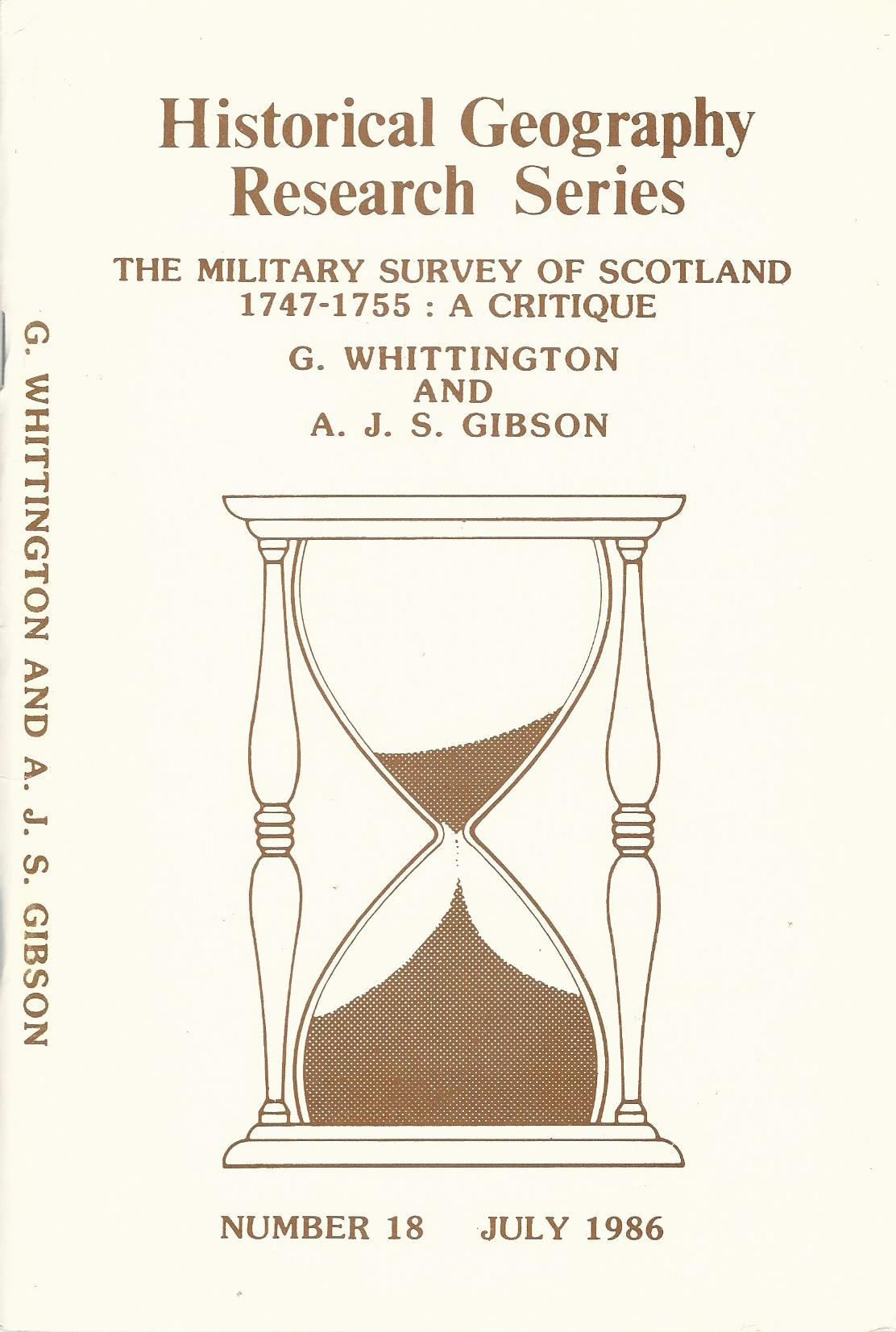 Image for Military Survey of Scotland, 1747-55: A Critique