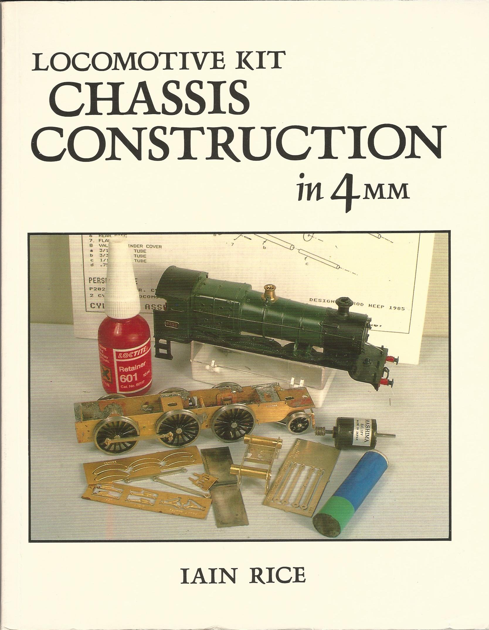 Image for Locomotive Kit Chassis Construction in 4mm Scale