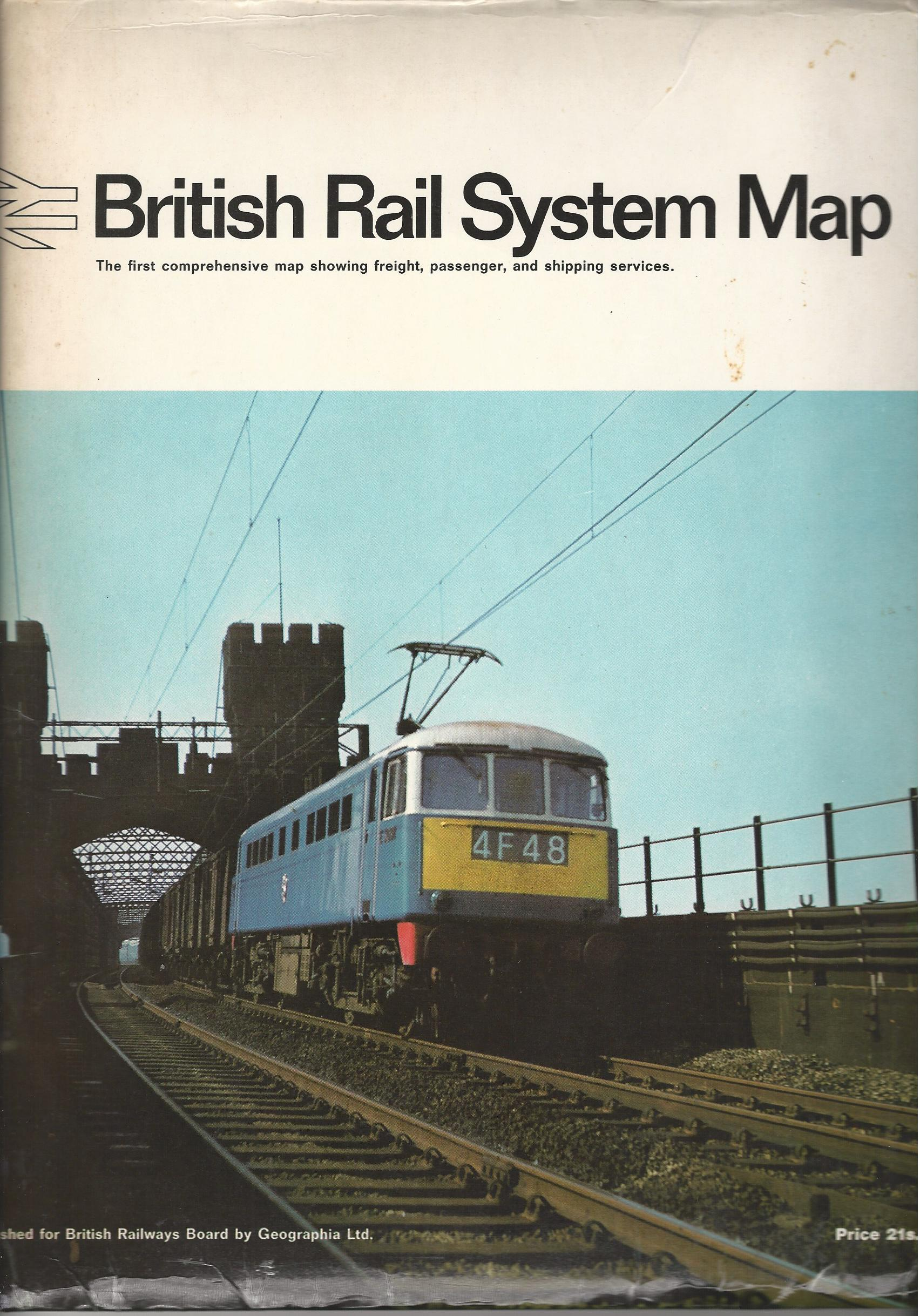 Image for British Rail System Map