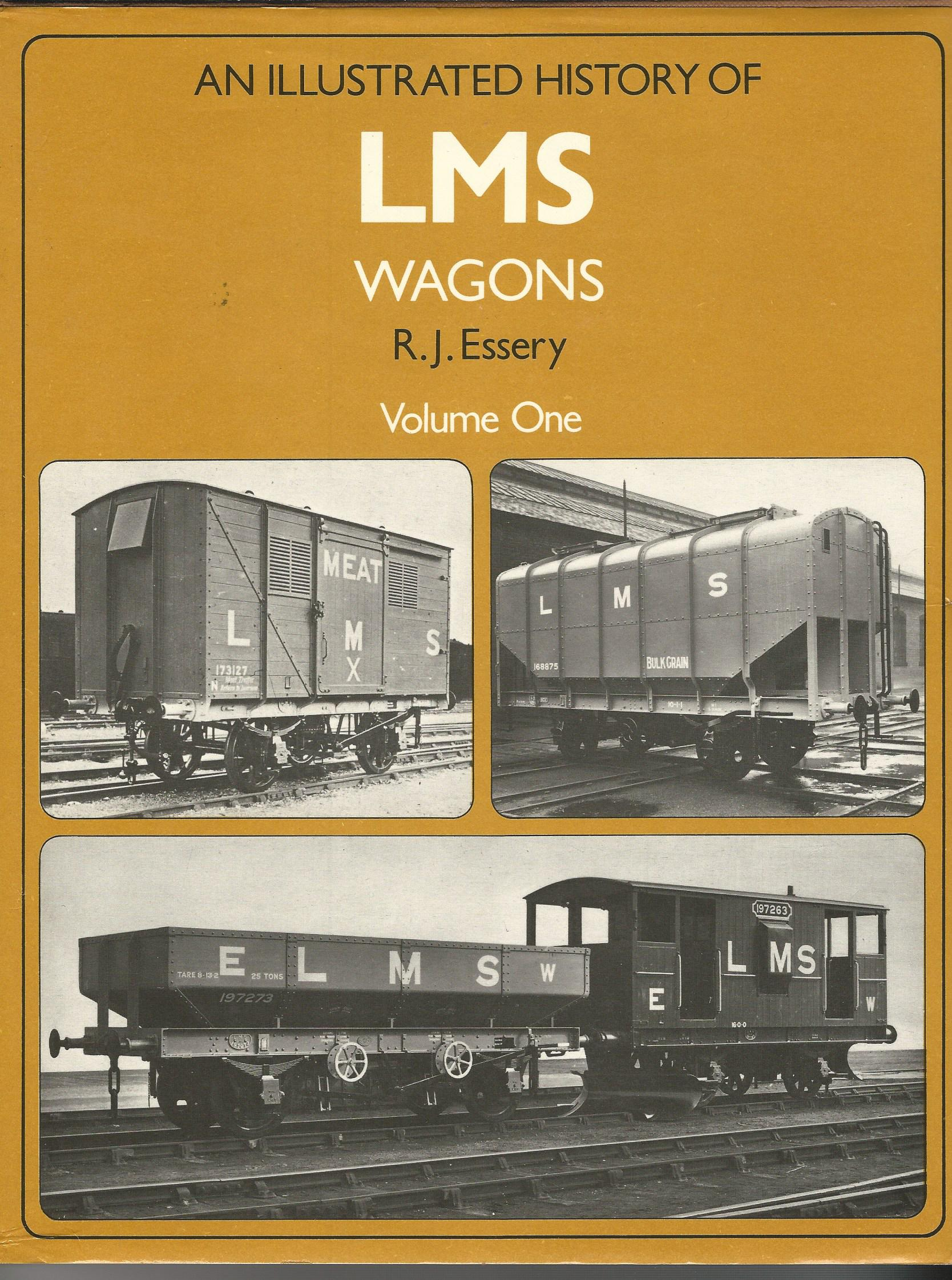 Image for An Illustrated History of LMS Wagons. Volumes One and Two.