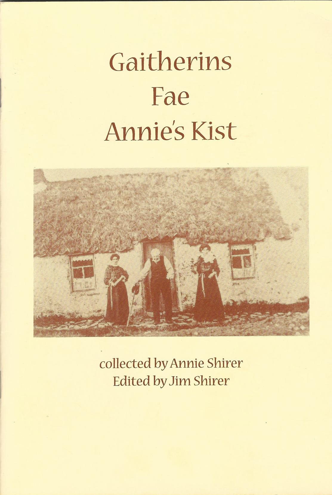 Image for Gaitherins Far Annie's Kist: A Selection of Poems and Sayings from the Buchan Area of N. E. Scotland