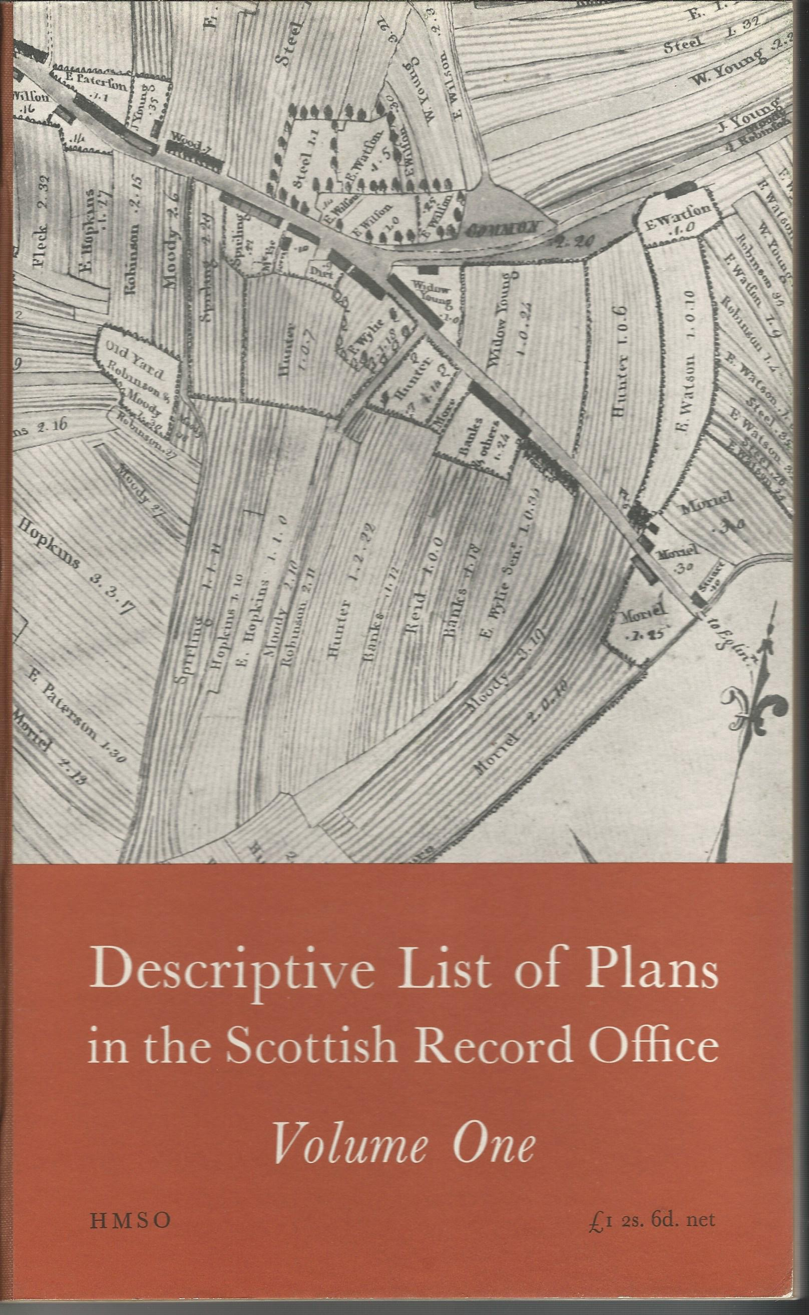 Image for Descriptive List of Plans in the Scottish Record Office (In Four Volumes.)