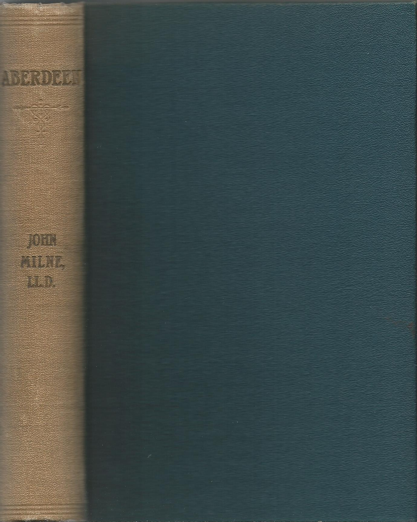 Image for Aberdeen: Topographical, Antiquarian, and Historical Papers on the City of Aberdeen