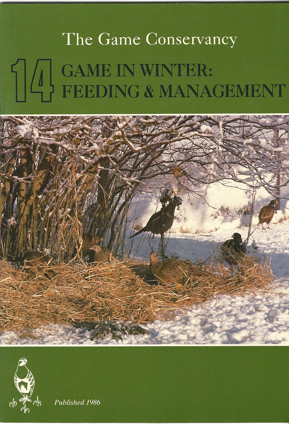 Image for Game in Winter: Feeding & Management